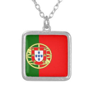 Le drapeau du Portugal (Bandeira De Portugal) Collier
