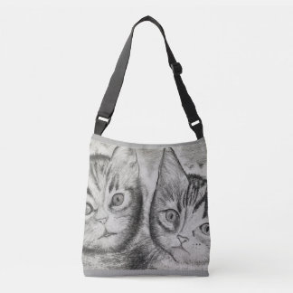Le duo des chatons, ► monochromatique Craftiespot Sac Ajustable
