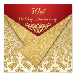 Le FAUX agite l'invitation d'anniversaire de Carton D'invitation 13,33 Cm