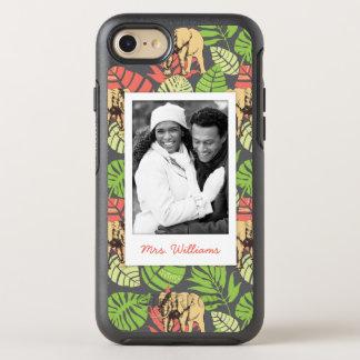 Le feuille et les éléphants exotiques | ajoutent coque otterbox symmetry pour iPhone 7