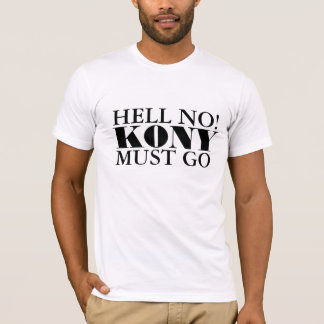 Le fonctionnaire non Kony doit aller T-shirt