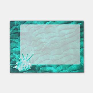 Le fond bleu de Sandy d'Aqua Post-it®