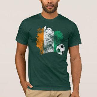 Le football affligé de Côte d'Ivoire T-shirt