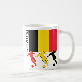 Le football Belgique Mug Blanc