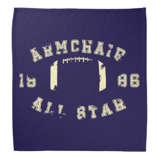 Le football d'All Star de fauteuil Bandana