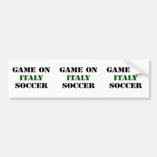 Le football de l'Italie Autocollants Pour Voiture