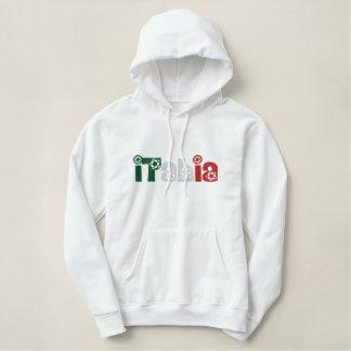 Le football Italie Calcio de pull de dames hoody