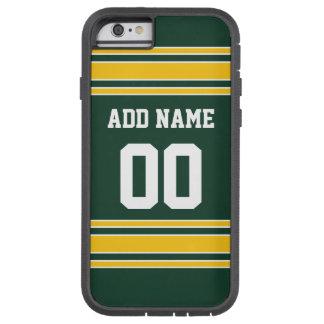 Le football Jersey avec le nombre nommé fait sur Coque Tough Xtreme iPhone 6