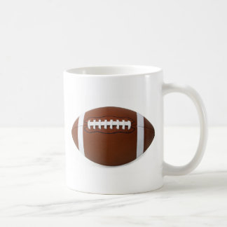 le football mug blanc