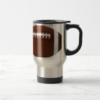 le football mug de voyage en acier inoxydable