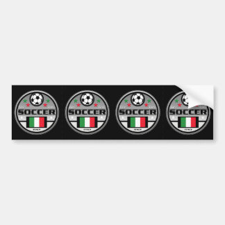 Le football vivant Italie d'amour Autocollant De Voiture