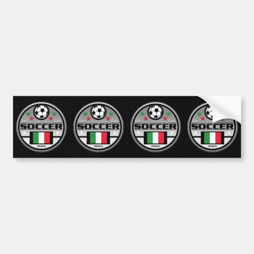 Le football vivant Italie d'amour Autocollant Pour Voiture