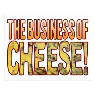 Le fromage bleu d'affaires carte postale