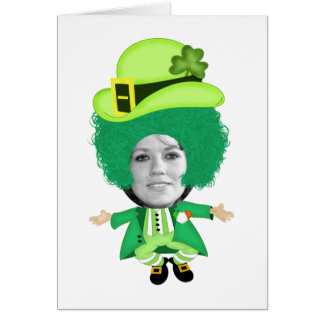 Le gabarit irlandais de Jour de la Saint Patrick, Carte