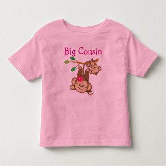 Le garçon, fille Monkeys le grand cousin T-shirt Pour Les Tous Petits