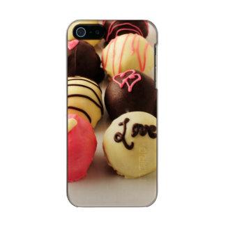 Le gâteau mord l'amour doux coque iPhone 5 incipio feather® shine