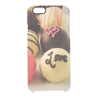 Le gâteau mord l'amour doux coque iPhone 6/6S