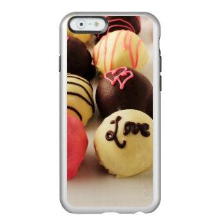 Le gâteau mord l'amour doux coque iPhone 6 incipio feather® shine