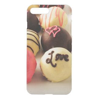 Le gâteau mord l'amour doux coque iPhone 7 plus