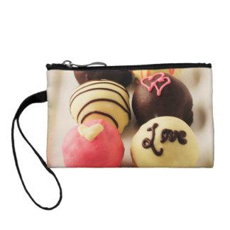 Le gâteau mord l'amour doux portefeuilles