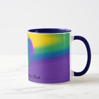 Le gay pride met en forme de tasse les cadeaux