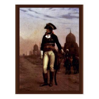 Le Général Bonaparte In le Caire par Gérôme Carte Postale