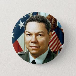 Le Général Colin Powell Badge Rond 5 Cm