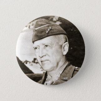 Le Général George Smith Patton Badge Rond 5 Cm