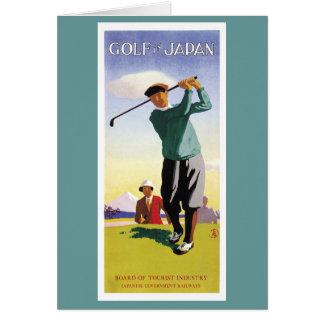 Le golfeur cartes