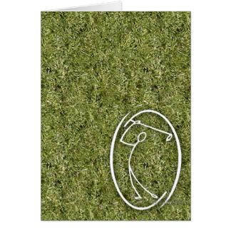 Le golfeur… carte de vœux