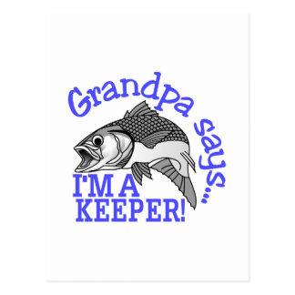 Le grand-papa dit cartes postales