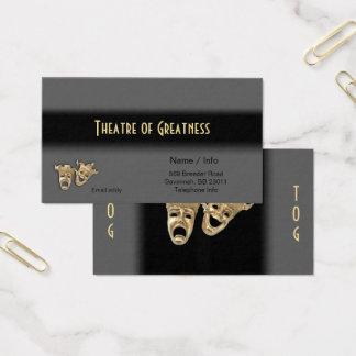 Le Grec de tragédie de comédie masque le carte de