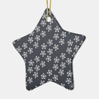 Le gris bleuâtre est le nouveau gris ornement étoile en céramique