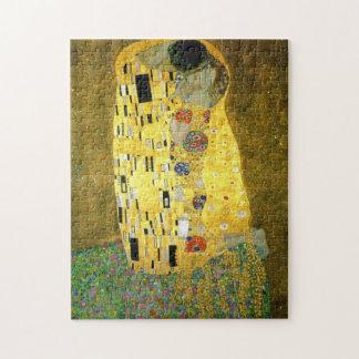 Le ~ Gustav Klimt de baiser Puzzle