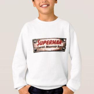 Le héros puissant de la terre sweatshirt