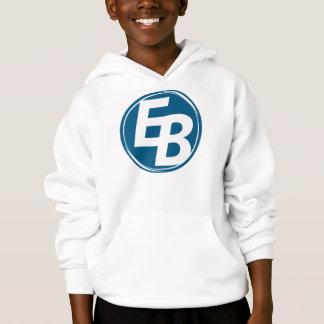 Le hoddie du garçon bleu extrême de logo