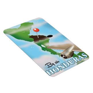 Le Honduras par l'affiche vintage de voyage d'air Magnet Flexible