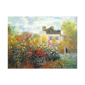 Le jardin de Monet aux beaux-arts d'Argenteuil Toiles