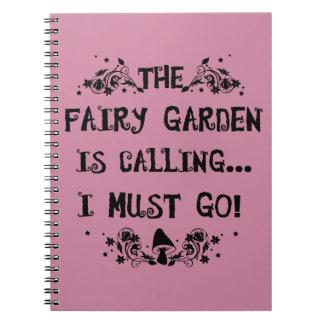 Le jardin féerique appelle ! Carnet féerique