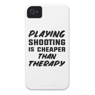 Le jeu du tir est meilleur marché que la thérapie étui iPhone 4