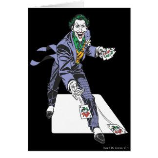 Le joker moule des cartes