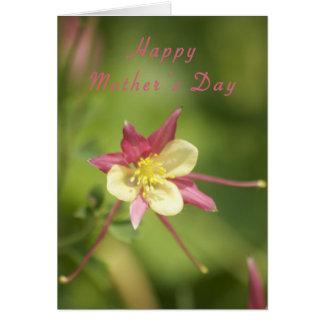 Le jour de mère heureux 5 carte de vœux