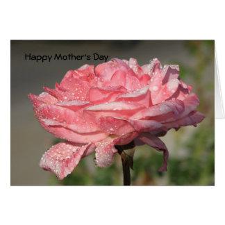 Le jour de mère heureux carte de vœux