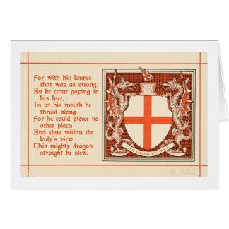 Le jour de St George Carte