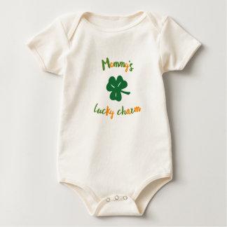 Le jour de St Patrick organique du charme chanceux Body