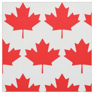 Le jour du Canada a uniquement conçu le tissu de