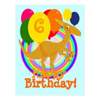 Le joyeux anniversaire monte en ballon la carte