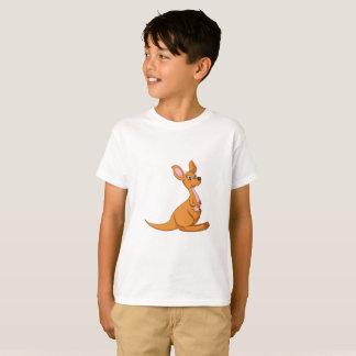 Le kangourou badine le T-shirt
