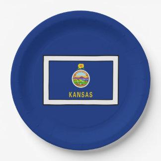 Le Kansas Assiettes En Papier