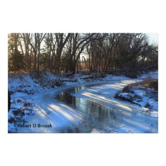 Le Kansas glacial et élargissement de photo de